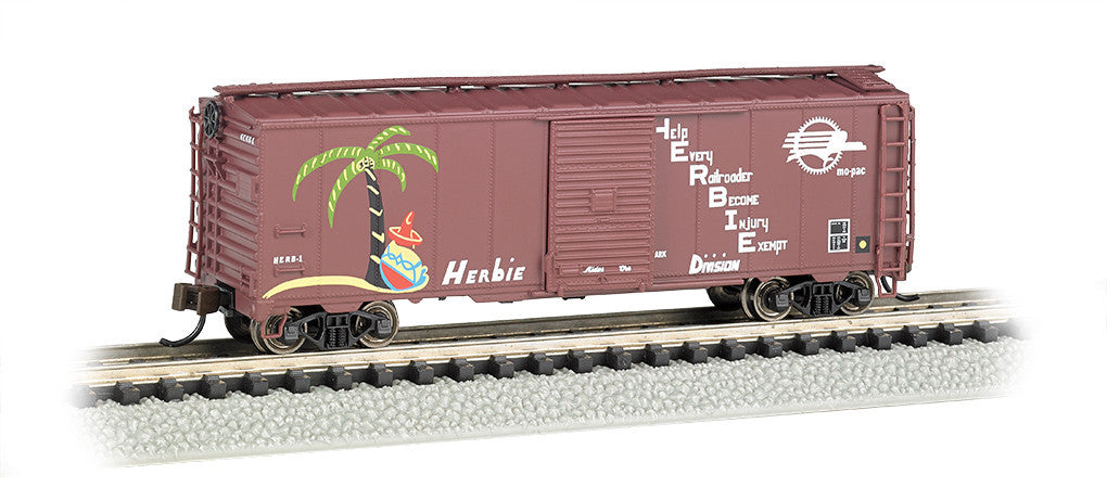 Bachmann N 40' Steel Box, Missouri Pacific 'Herbie'