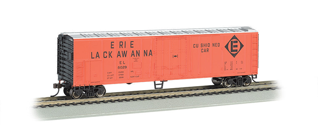 Bachmann HO 50' Steel Reefer, Erie Lackawanna #5029