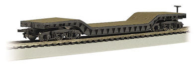 Bachmann HO 52' Center-Depressed Flat Car w/No Load