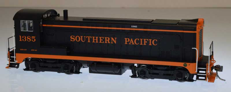 Bowser Trains HO Baldwin VO-1000 w/LokSound & DCC - Southern Pacific #1385 (Black, Orange, Orange Hood Stripe)