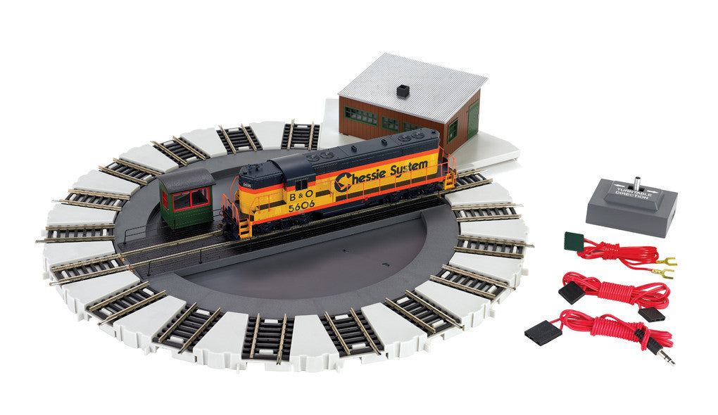 Bachmann HO Motorized Turntable - Standard DC