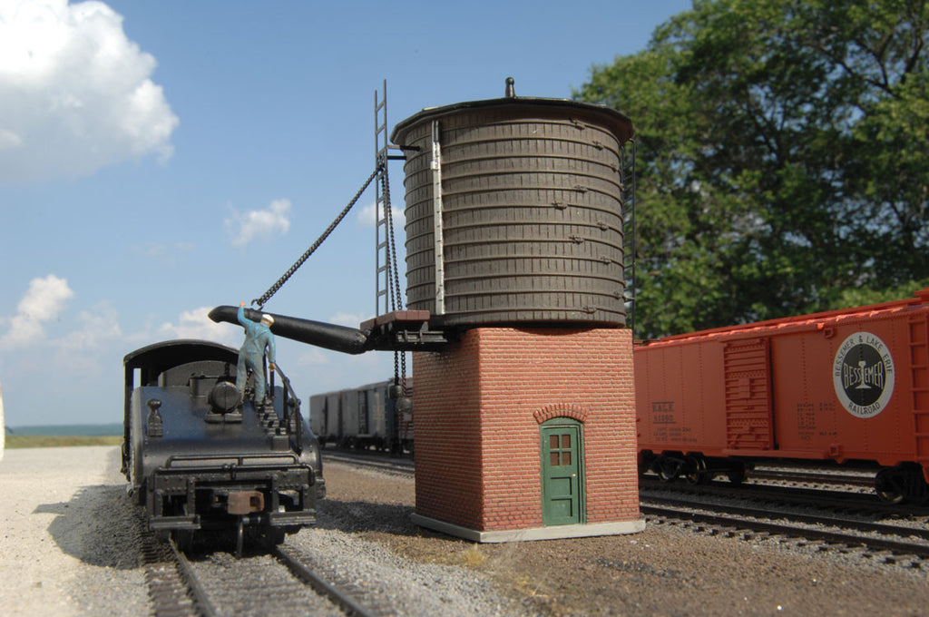 Bachmann HO Branch Line Water Stop (Tower) - Assembled