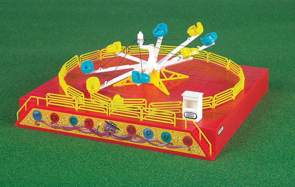 Bachmann HO Operating Octopus Carnival Ride Kit