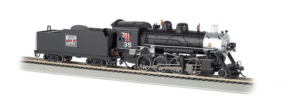 Bachmann N 2-8-0 w/DCC & Sound Value, Western Pacific #35