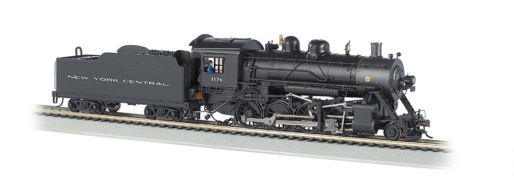 Bachmann N 2-8-0 w/DCC & Sound Value, New York Central #1156