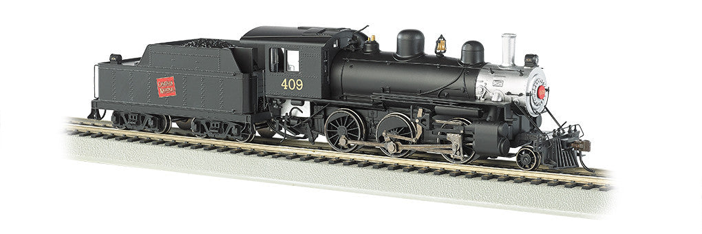 Bachmann HO Alco 2-6-0 Mogul w/DCC & Sound Value, Canadian National #409