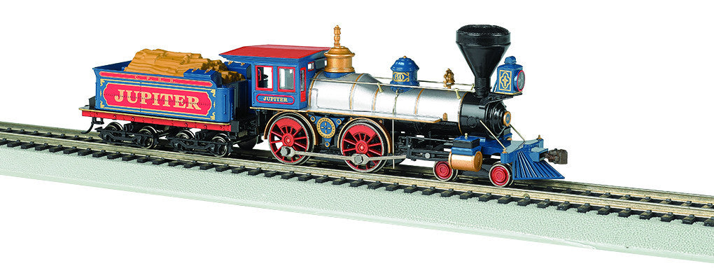 Bachmann HO American 4-4-0 w/DCC & Sound Value, Central Pacific 'Jupiter'