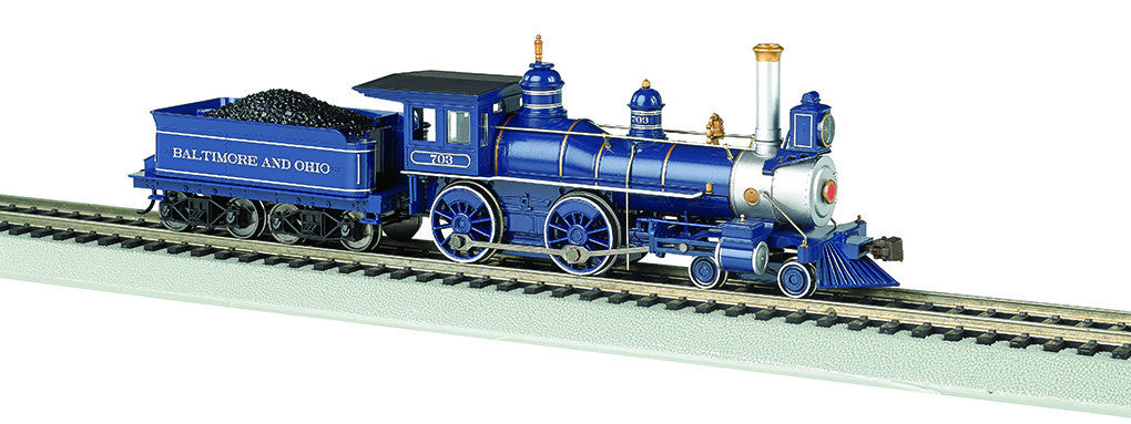 Bachmann HO American 4-4-0 w/DCC & Sound Value, Baltimore & Ohio®