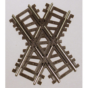 Atlas HO Code 83 Crossing - Nickel Silver w/Brown Ties - 60 Degrees