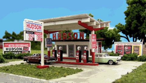 Blair Line N Hudson Oil Gas Station Kit