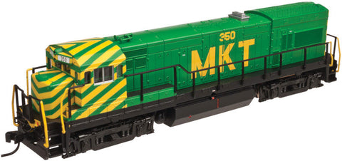 Atlas N GE U23B Low Hood w/DCC - Missouri-Kansas-Texas #352 (Green, Yellow)