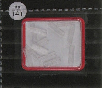 Atlas N Insulated Rail Joiners - Pkg. (12)