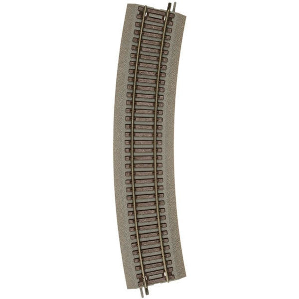"Atlas HO True-Track(R) Code 83 Track & Roadbed System - 22"" Radius Curve Sections pkg(4)"