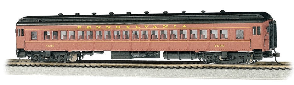 Bachmann HO 72' Heavyweight Coach, PRR/Postwar