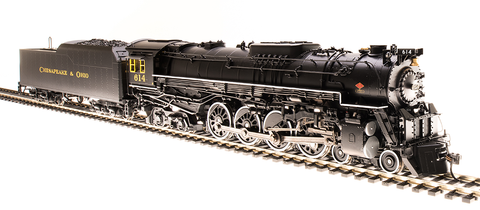 Broadway Limited Imports HO Class J3a 4-8-4 w/Sound, DCC & Smoke - Paragon3 Hybrid - Chessie System Railroads #614 (Excursion Scheme)