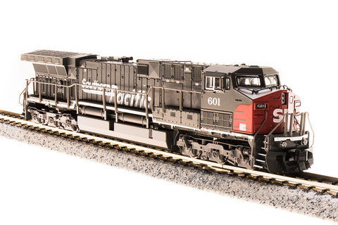 Broadway Limited Imports N GE AC6000 with Sound and DCC - Paragon3 - Southern Pacific 601 (Gray, Red, Speed Lettering)