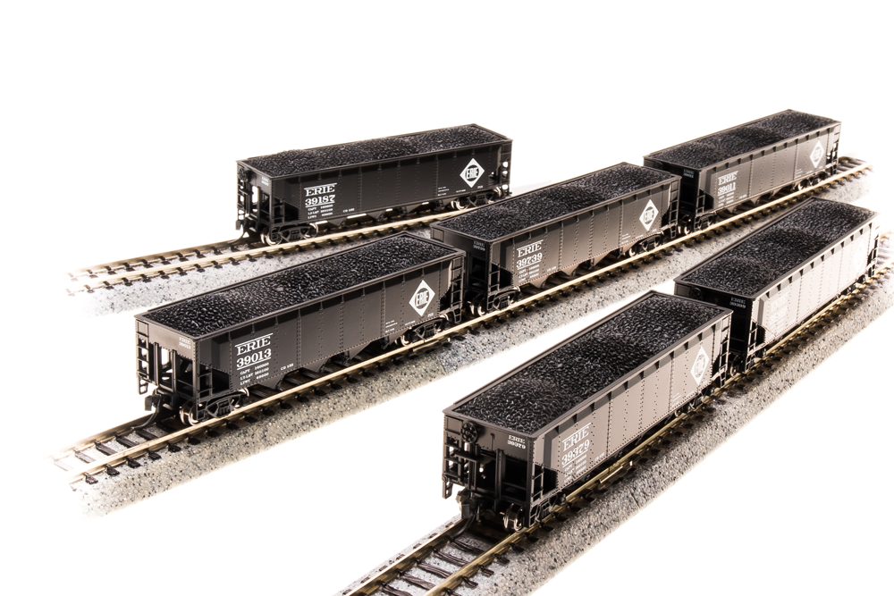 BROADWAY LIMITED IMPORTS N ARA 70t 4bay HOPPER ERIE6 PACK B