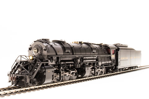 Broadway Limited HO N&W Y6b 2-8-8-2, #2180, 22I tender, Paragon3 Sound/DC/DCC, Smoke