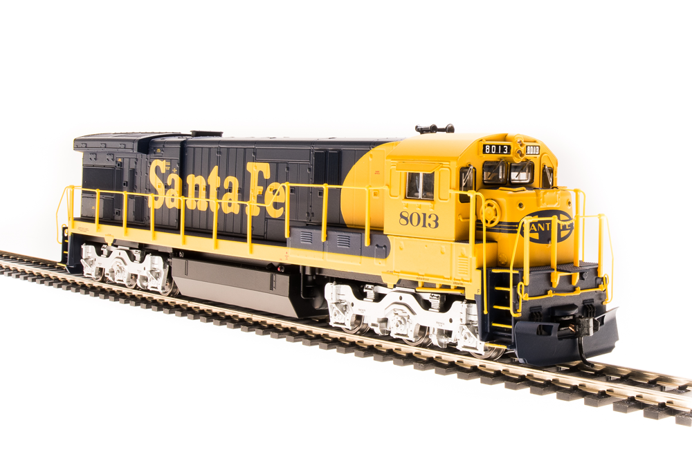 BROADWAY LIMITED IMPORTS HO GE C30-7 ATSF 8050 W/SOUND