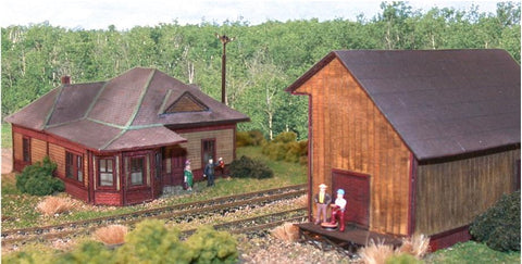 The N Scale Architect - N Rockingham Junction Station & Freight House Kit