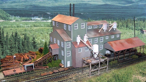 The N Scale Architect - N Long Valley Lumber Mill Kit