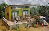 Bar Mills HO Cranberry Yard Freight House Kit