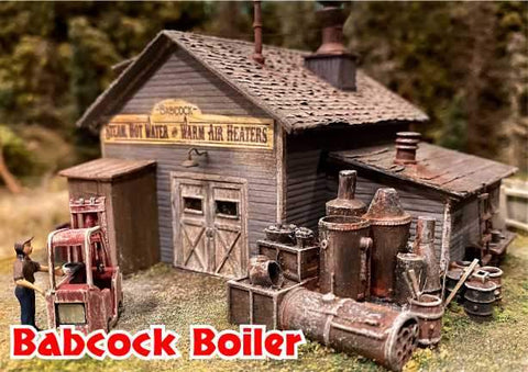 """N SCALE /""""TWIN HORIZONTAL FUEL TANKS/"""" by Bar Mills"""