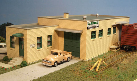 City Classics HO Carnegie Street Manufacturing Building Kit