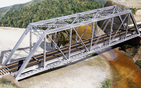 Central Valley HO 150' Through-Truss Bridge w/Gussested Girders Kit