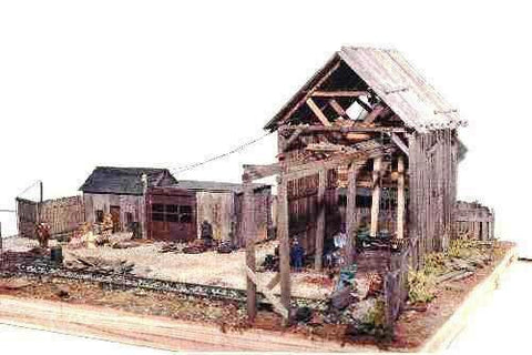 JV Models N Scale Ward's Salvage Co. Kit