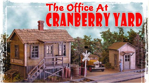 Bar Mills HO Office at Cranberry Yard Kit