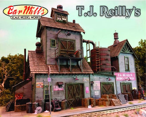 Bar Mills N T.J. Reilly's Laser-Cut Wood Kit