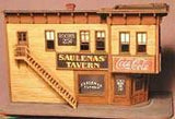 "Bar Mills HO Saulena's Tavern Kit - 6 x 3-1/4""  15.2 x 8.3cm"