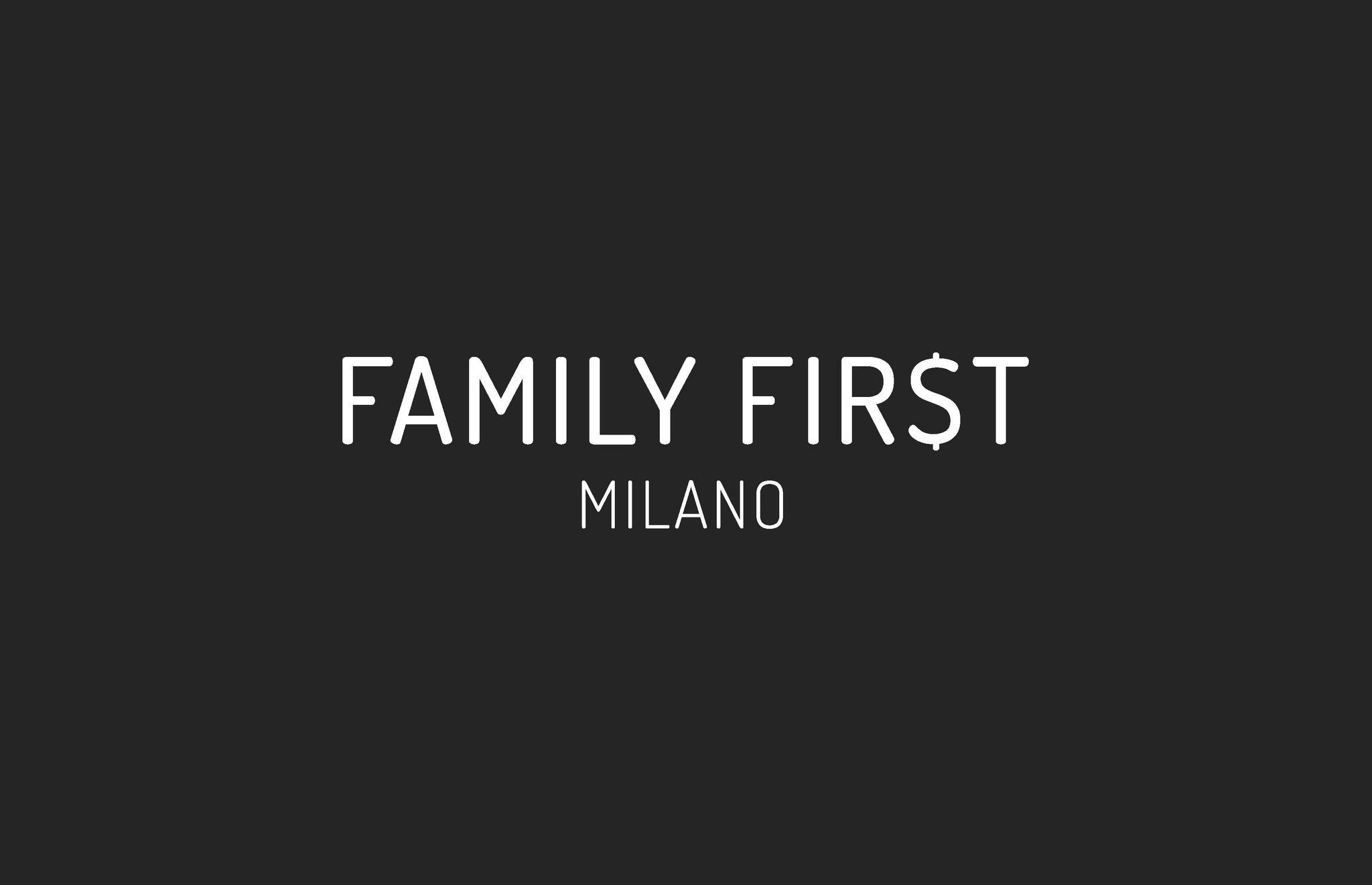Family First Milano Spring Summer 2018