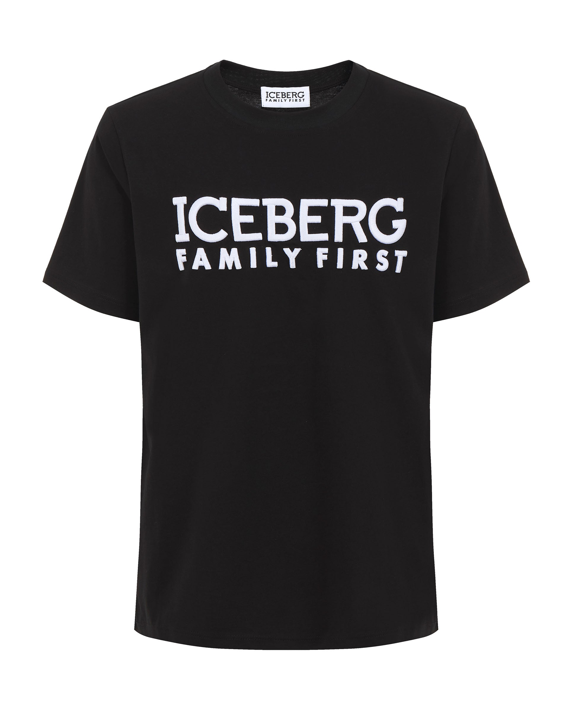 T-shirt Embroidered Black