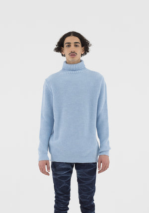 Sweater Turtle Light Blue