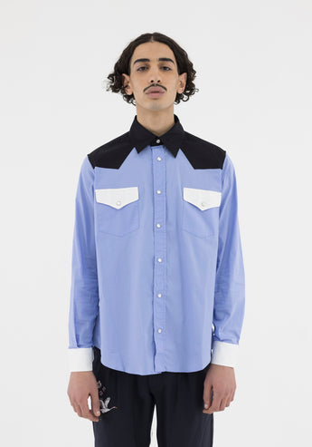 Shirt Blocks Light Blue