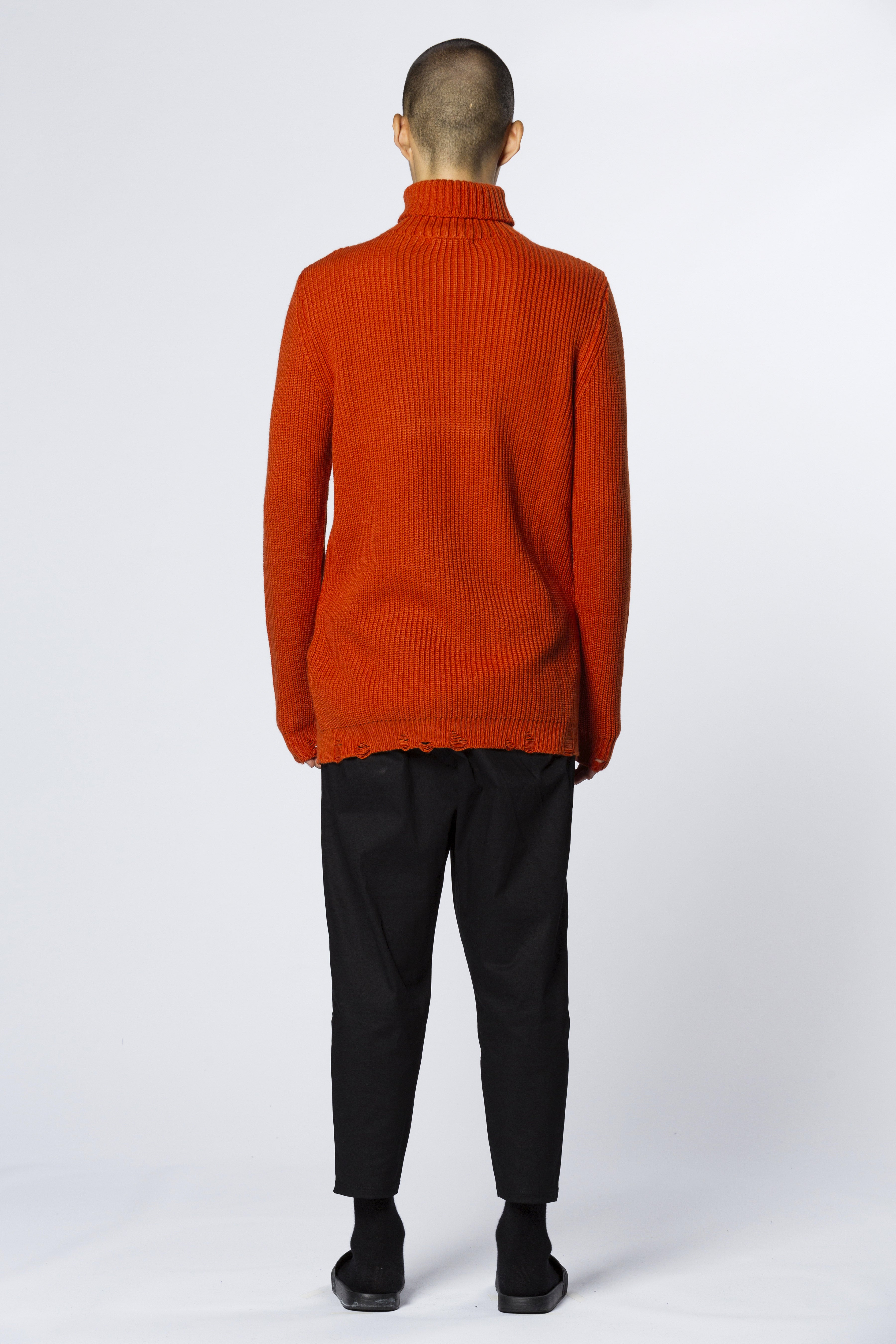 Sweater Turtle Neck Light Red