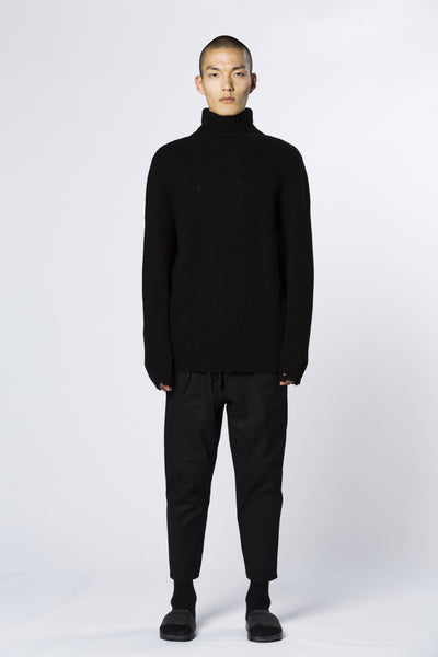 Sweater Turtle Neck Black