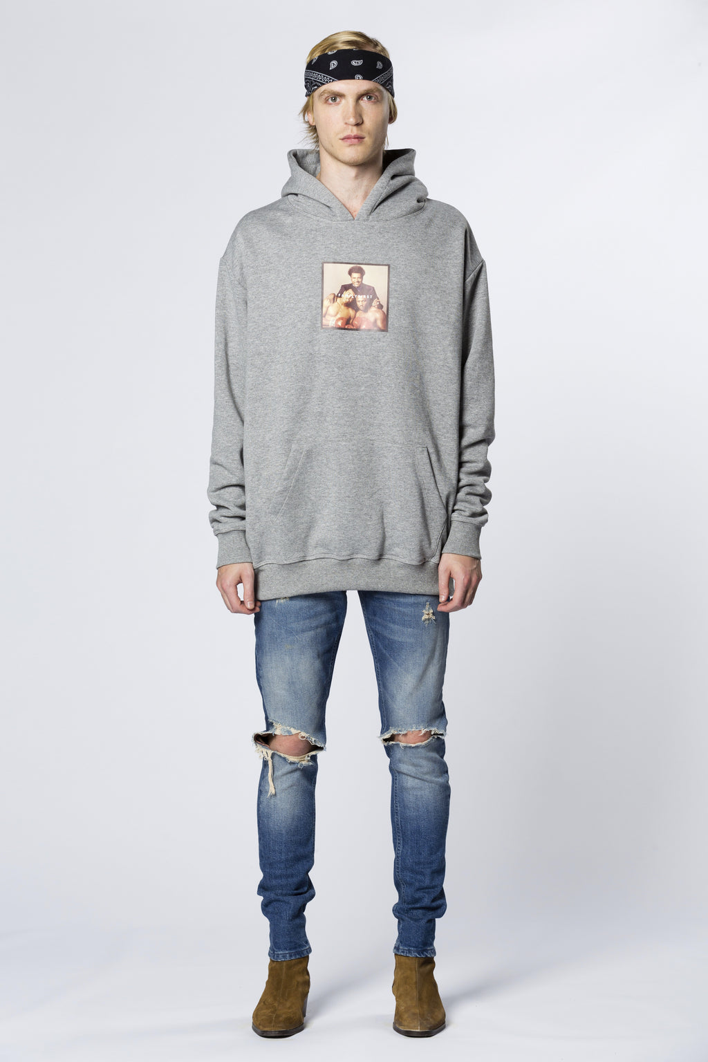 Hoodie Don King Grey