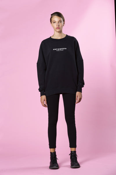 Sweatshirt Empowered Black