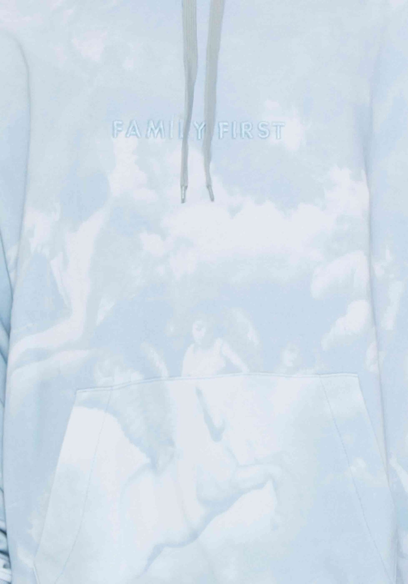 Hoodie The Saints Light Blue
