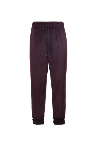 Pants Velour Purple