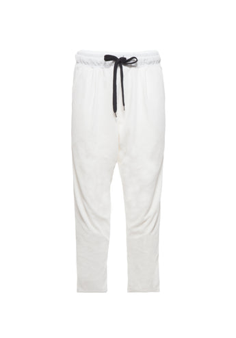 Pants Chino Velvet white