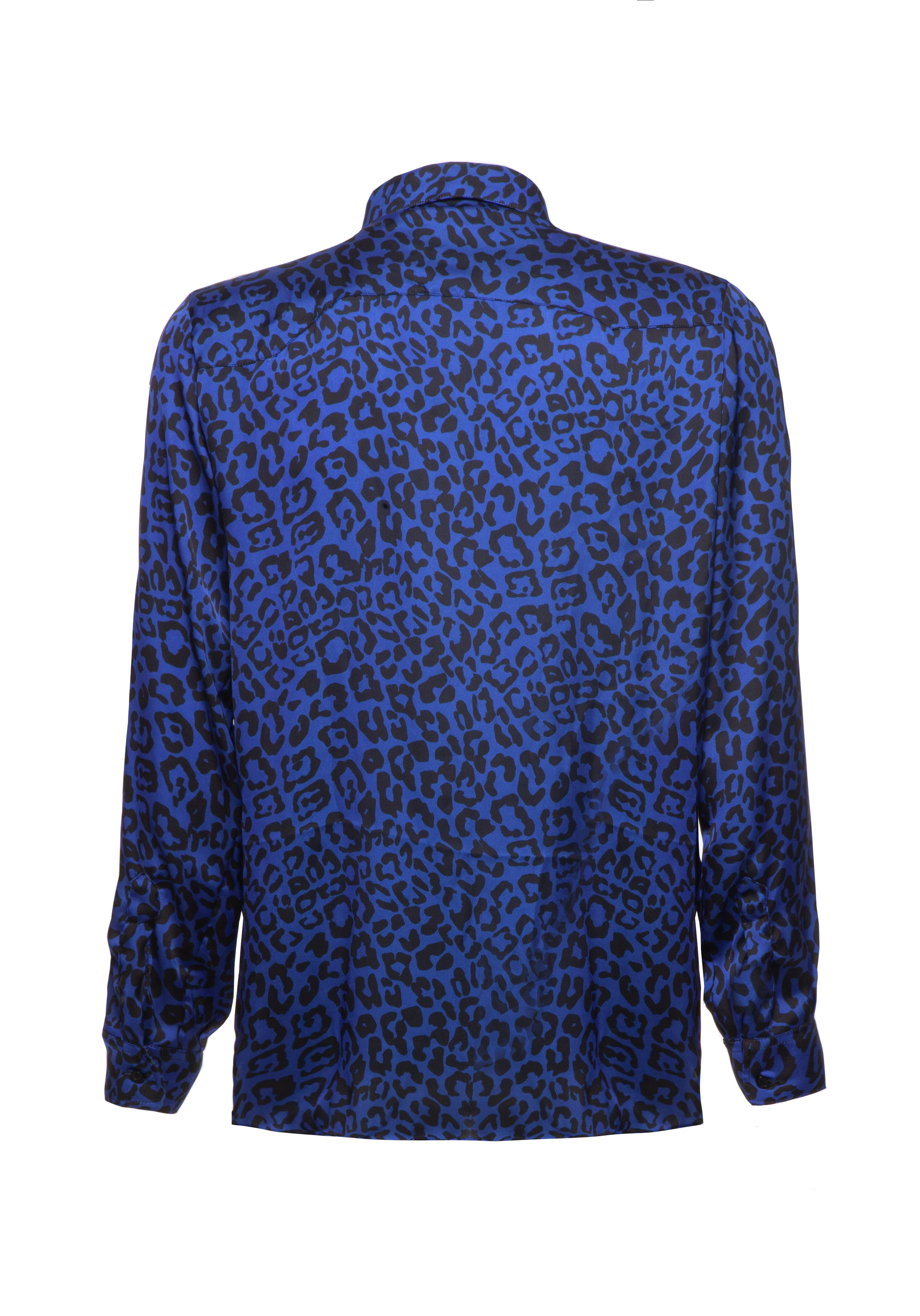 Shirt Leopard Blue