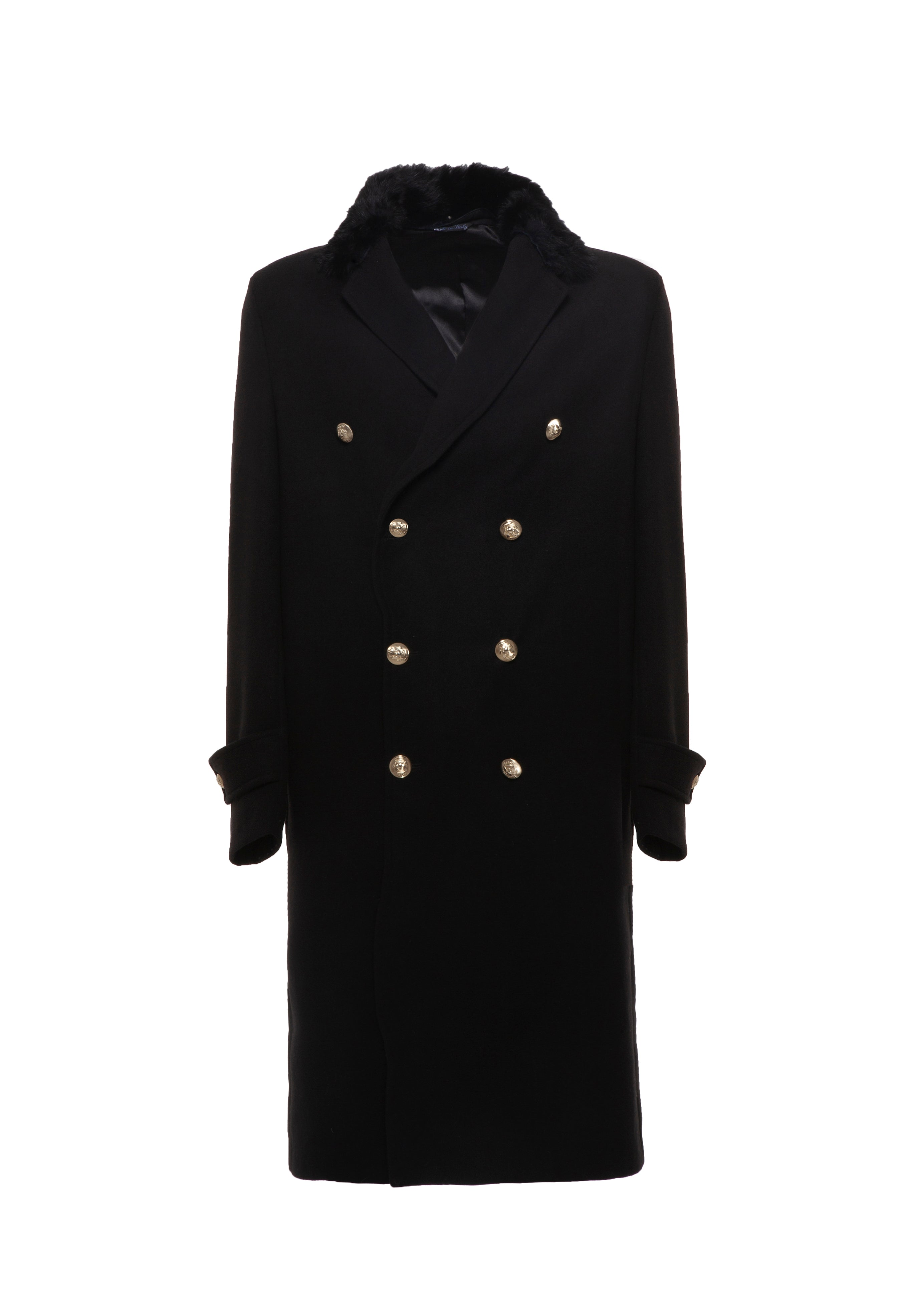 Coat Collar Black