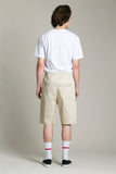 Shorts Cotton Beige