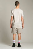 Short Sleeve T-Shirt Beige Breakages
