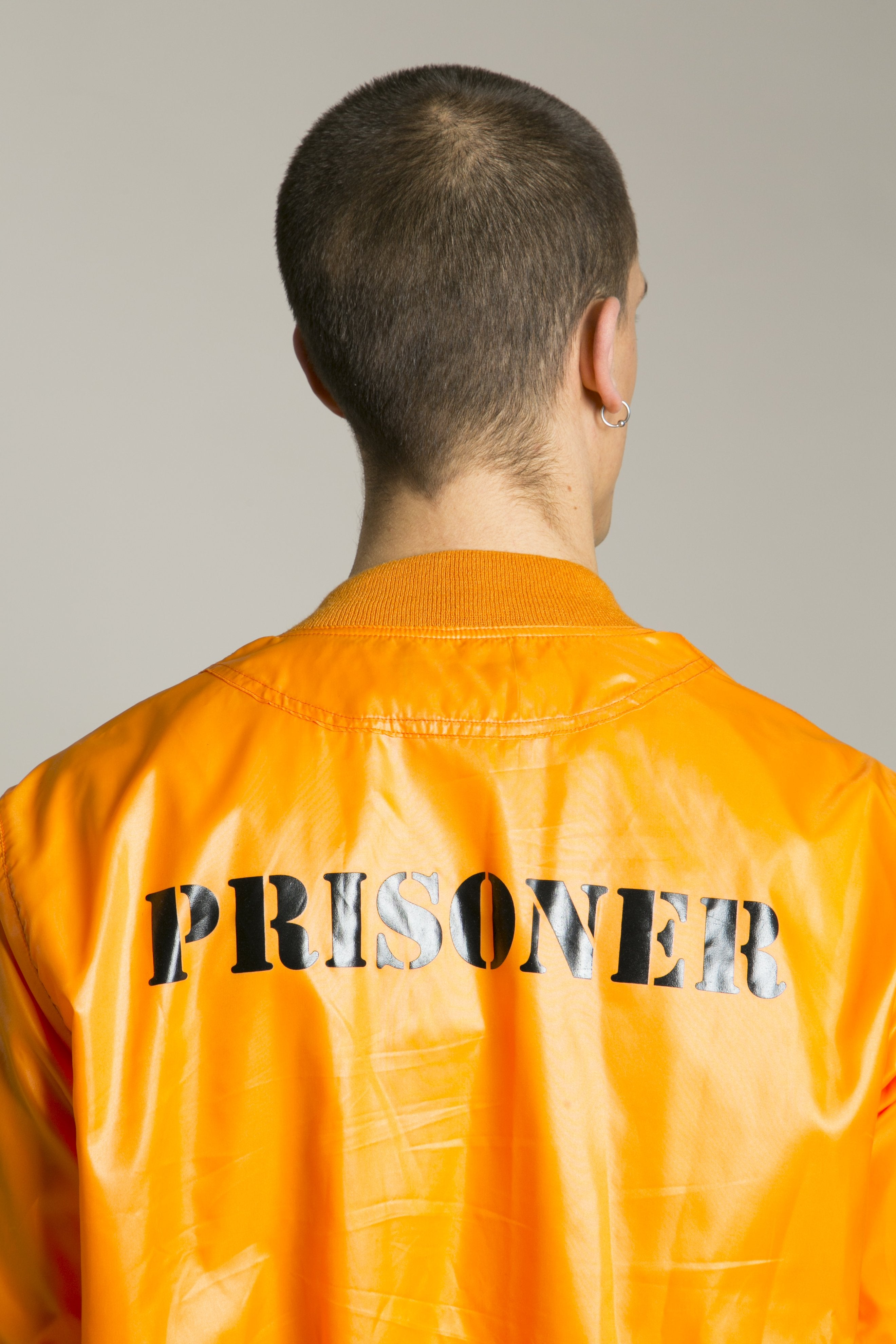 Bomber Prisoner Orange