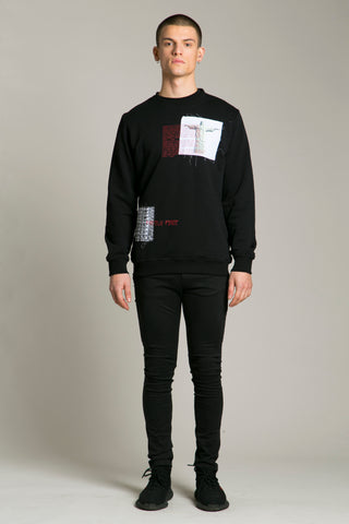 Sweatshirt Black Statue